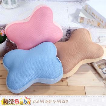 魔法Baby 粉漾小骨枕造型靠枕(qg242)