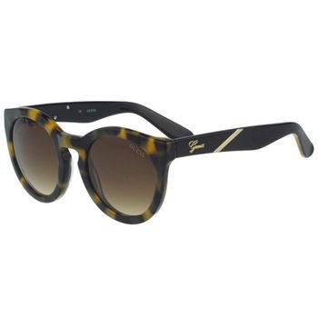 GUESS-時尚中性太陽眼鏡(豹紋)