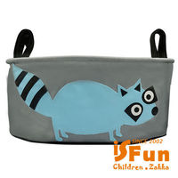 ~iSFun~動物拼布~嬰兒車掛袋收納包 ^#47 浣熊