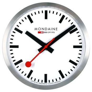 MONDAINE 瑞士國鐵經典掛鐘/25cm (CLOCK1)