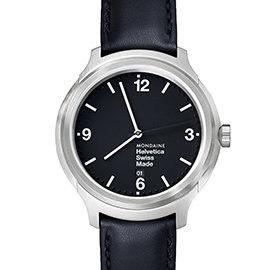 MONDAINE 瑞士國鐵設計系列腕錶 - 黑/43mm (XM-1B1220K)