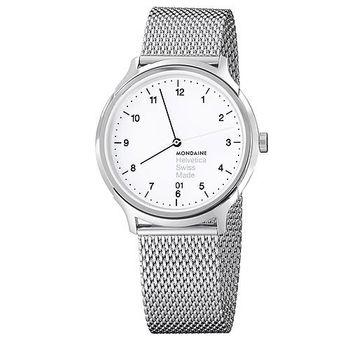 MONDAINE 瑞士國鐵設計系列腕錶- 米蘭帶/38mm