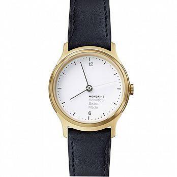 MONDAINE 瑞士國鐵設計系列腕錶 - 金/26mm