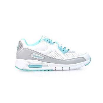【DIADORA】女運動鞋 -路跑 慢跑 白湖水綠