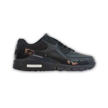 【DIADORA】女運動鞋 -路跑 慢跑 黑