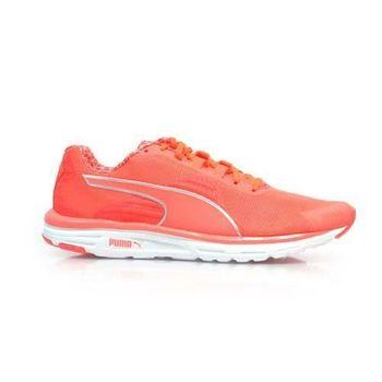 【PUMA】FAAS 500 V4 PWRWARM WN 女慢跑鞋- 登山 螢光橘