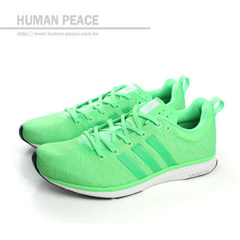 adidas adizero feather 4 跑鞋 戶外休閒鞋 綠 女款 no979
