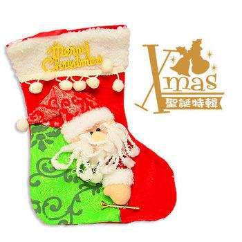 【X mas聖誕特輯】9吋-裝飾聖誕襪A款
