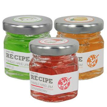 RE:CIPE韓國進口 果醬保濕護手霜三件組90ml