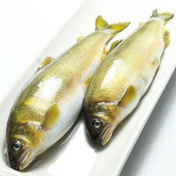 【那魯灣】宜蘭純淨帶卵母香魚 2盒(6尾/1公斤/盒)