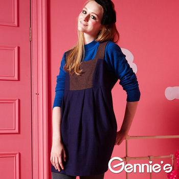 Gennie's奇妮 - 典雅品味羊毛秋冬孕婦上衣(G3Y28)-紫