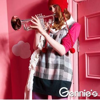 【Gennie's奇妮】品味蘇格蘭孕婦背心上衣(G3Y22)