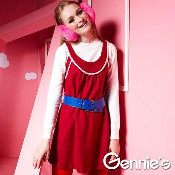 【Gennie's奇妮】多風格羊毛秋冬孕婦背心上衣(G3Y34)