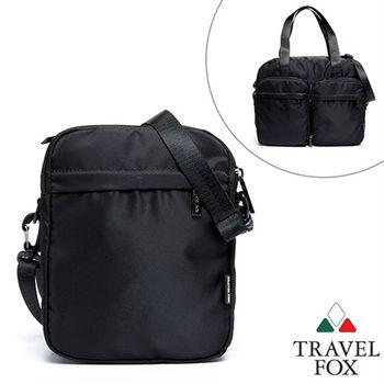 Travel Fox 旅狐百變系列側背/托特包(黑)(TB686-01)