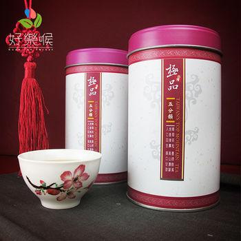 【好樂喉】台灣高山烏龍茶─緋紅單葉五分-共4斤