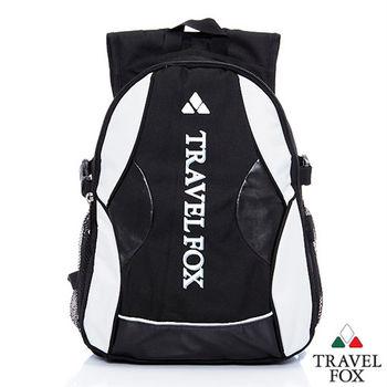 Travel Fox 旅狐活彩後背包(黑)(TB628-01)
