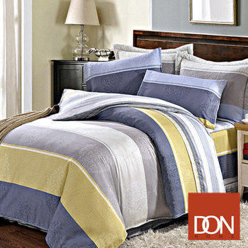 【DON】索思 雙人六件式天絲兩用被床罩組