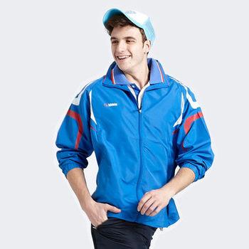 【Vallatno Leo】男版運動夾克(VW3103-05)藍