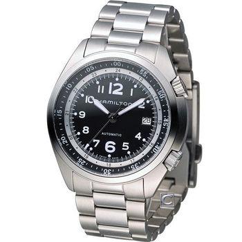 漢米爾頓 HAMILTON 卡其飛行先鋒機械腕錶 H76455133