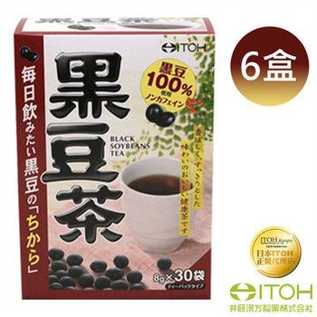 【日本ITOH】 黑豆茶(30袋/盒)*6盒