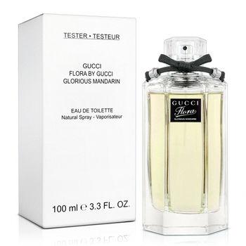 【福利品】Gucci 花園香氛 絢麗‧橙 女性淡香水Tester(100ml)