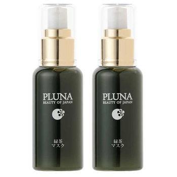 PLUNA-綠茶淨白膠原面膜(65g/瓶,共2瓶)