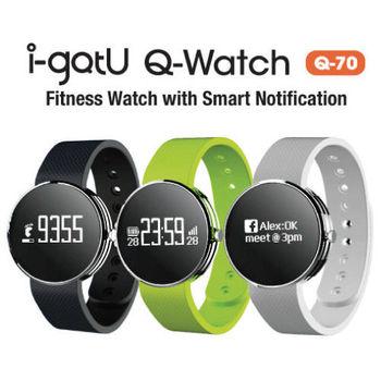 i-gotU Q-Watch Q70 藍牙4.0 智慧健身手錶