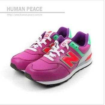 New Balance 574系列 運動鞋 紫 童 no794