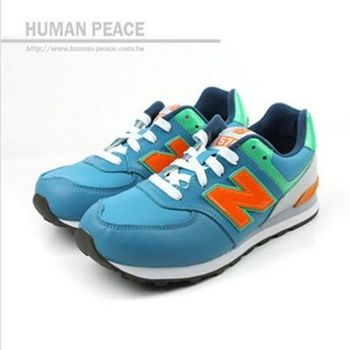 New Balance 574系列 運動鞋 藍 童 no793