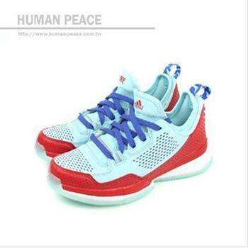 adidas D LILLARD 籃球鞋 藍 大童 no130