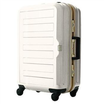 日本 LEGEND WALKER 5088-60-25吋 鋁框霧面輕量行李箱 象牙白