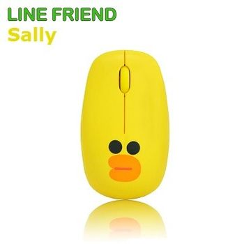 LINE FRIEND 限定版 莎莉造型 2.4G 無線滑鼠 MA06_Sally