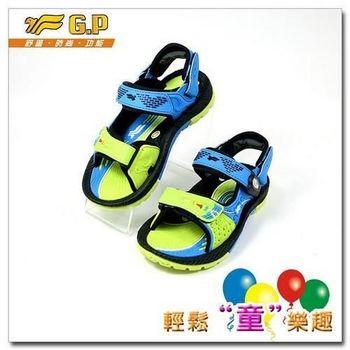 [GP]快樂童鞋-磁扣兩用涼鞋-G5932B-60(綠色)(尺碼26-34)共有三色