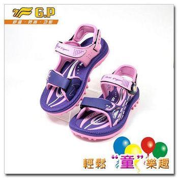 [GP]快樂童鞋-磁扣兩用涼鞋-G5933B-41(紫色)共有三色