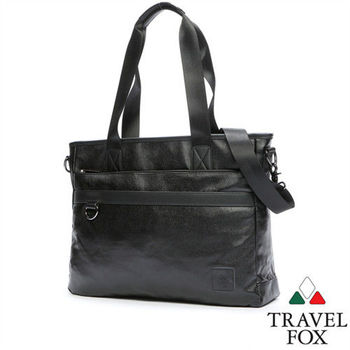 Travel Fox 旅狐雅格托特包(NB可入)(黑)(TB679-01)