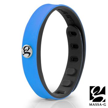 MASSA-G SP1炫色鍺鈦能量手環-藍