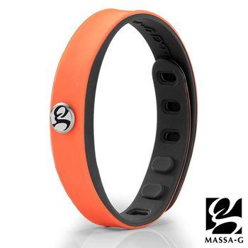 MASSA-G SP1炫色鍺鈦能量手環-橘