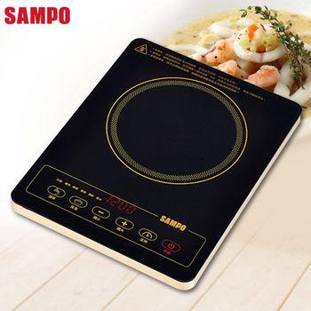 【SAMPO聲寶】超薄不挑鍋電陶爐 KM-SG12P