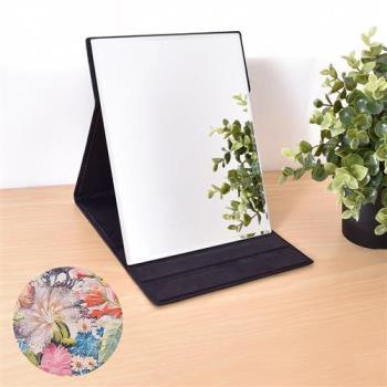 【凱堡】伊甸花園化妝鏡/摺疊鏡/桌鏡(中型17x22)