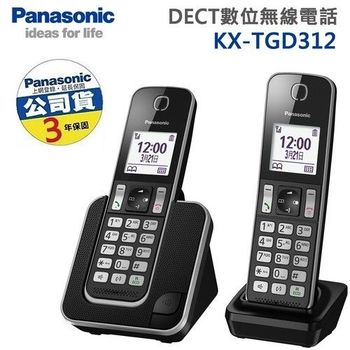 Panasonic DECT節能數位無線電話 KX-TGD312