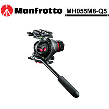 Manfrotto 曼富圖 MH055M8-Q5 鎂合金攝錄兩用雲台
