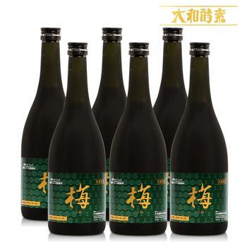 【寶媽代言】日本原裝大和紀州梅精萃本草酵素(720ml/瓶)x6瓶