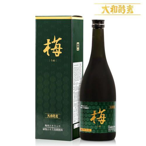 【寶媽代言】日本原裝大和紀州梅精萃本草酵素(720ml/瓶)x1瓶