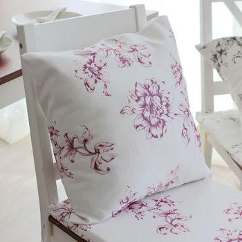 【協貿】現代簡約水墨花卉中國風休閒時尚大方抱枕含芯