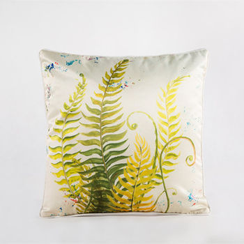 【協貿】中國風加厚仿真絲植物花卉第六款抱枕含芯