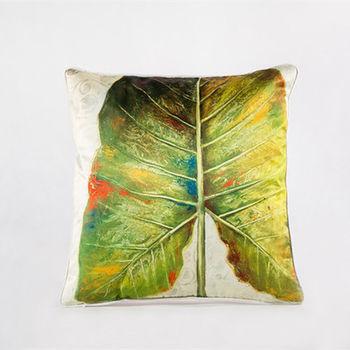 【協貿】中國風加厚仿真絲植物花卉第三款抱枕含芯
