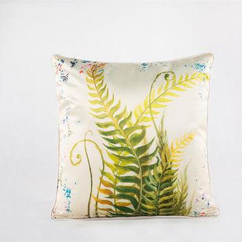 【協貿】中國風加厚仿真絲植物花卉第一款抱枕含芯