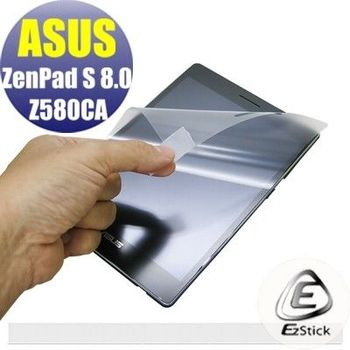 【EZstick】ASUS ZenPad S 8.0 Z580 CA 專用 靜電式平板LCD液晶螢幕貼 (鏡面防汙螢幕貼)