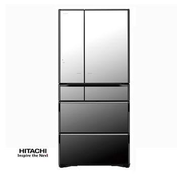 原廠禮★HITACHI日立670公升ECO智慧真空一級變頻六門冰箱RX670FJ