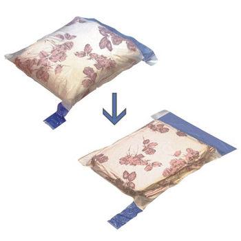 【衣麗特】真空衣物壓縮收納袋-M×1入